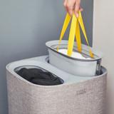 Joseph Joseph Tota 60L Separation Laundry Basket - Grey