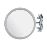 Howards Suction LED Magnifying Makeup Mirror