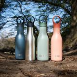Joseph Joseph Loop Stainless Steel Water Bottle 500ml