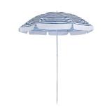 Sunnylife Nouveau Bleu Eco Beach Umbrella