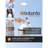 brabantia Smartfix Waste Bags 5 Litre Dispenser Pack - 60 pack - Size B