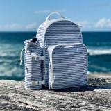 Sunnylife Nouveau Bleu Cooler Backpack Picnic Set