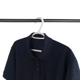 Non-Slip Clothes Hanger 10 Pack - White