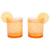 Sunnylife Poolside Tumblers Peachy Pink 2 Pack