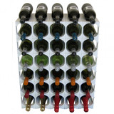 Cellarstak 35 Wine Bottle Rack in White