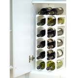 Cellarstak 12/15 Bottles Wine Rack in White