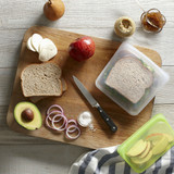 Stasher Silicone Sandwich Bag - Clear