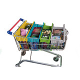 Reusable Shallow Trolley Bags Express - Pastel