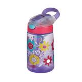 Contigo Gizmo Flip Drink Bottle 420ml - Flowers