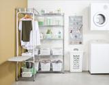 easy-build Custom Corner Laundry Unit
