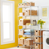 easy-build Shelf on Wheels