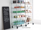 easy-build Clear PVC Shelf Sheet 120x46cm