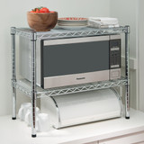 easy-build Microwave Bench Stand Kit - Silver
