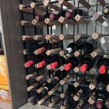 Wine Stash Timber Wine Rack 6x8 (54 Bottle) - Rustic