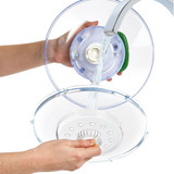 Zyliss Easy Spin Clear Salad Spinner - Large