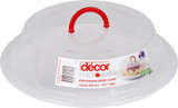 Decor Microsafe Microwave Plate Cover up to 265mm Plate