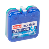 Decor Ice Bricks Ice Wall Mini - 3 Pack