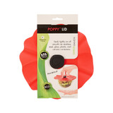 Poppy Lid Food Cover 20cm - Red