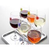 Charles Viancin Floral Drink Markers Set of 6