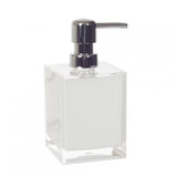 White Cube Small Soap Dispenser