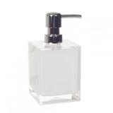 White Cube Small Soap Dispenser