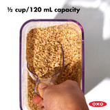 OXO POP Half Measuring Cup Scoop - Clear