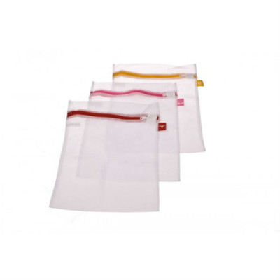 Laundry Mesh Washing Bags with Label Tags  - Set of 3