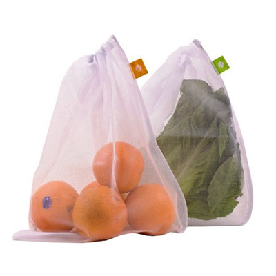 Reusable Mesh Produce Bags - Set of 8