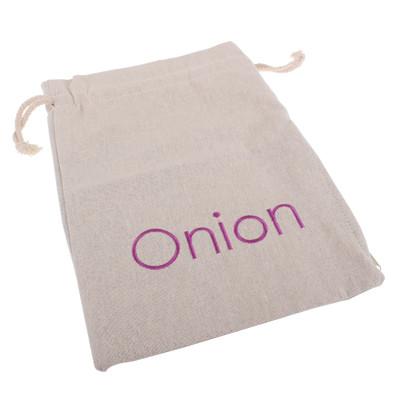 Reusable Embroidered Onion Bag