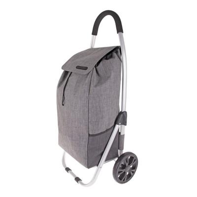 Shop & Go Urban Shopping Trolley - Charcoal Grey