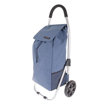 Shop & Go Urban Shopping Trolley - Steel Blue