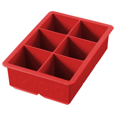 King Ice Cube Tray - Red