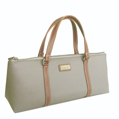 Sachi Insulated Wine Purse - Taupe