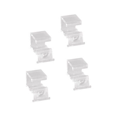 elfa Clear Basket Stoppers x 4