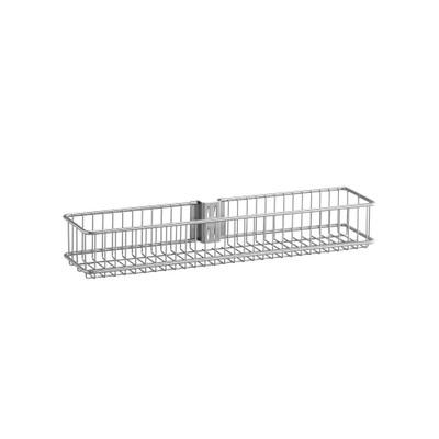 elfa Utility Door and Wall Rack Wire Basket Medium - Platinum