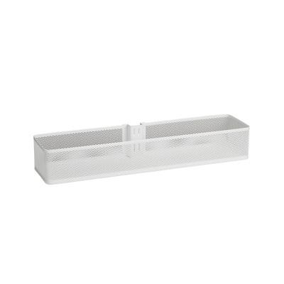 elfa Utility Door and Wall Rack Mesh Basket Medium - White