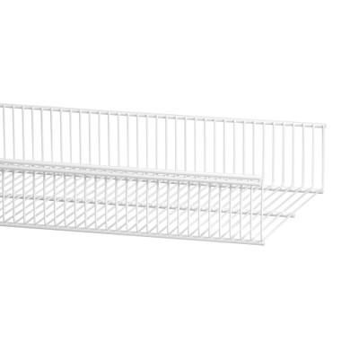 elfa 30 Wire Shelf Basket 902mm Width - White