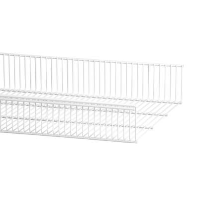 elfa 40 Wire Shelf Basket 607mm Width - White
