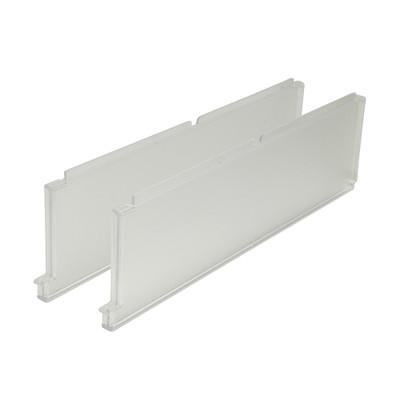 elfa Clear Divider for Shelf Basket (2 Pack)