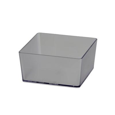 elfa Utility Reversible Shelf Tray Box Square - Frosted
