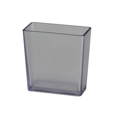 elfa Utility Reversible Shelf Tray Box Tall - Frosted