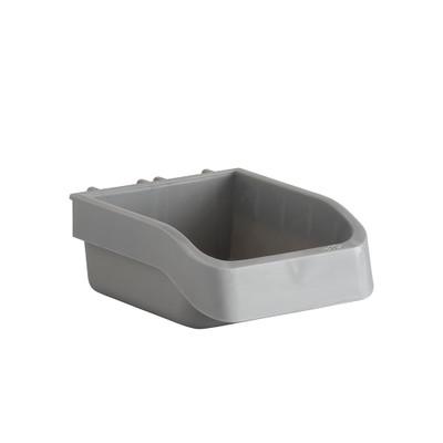 elfa Utility Pegboard Accessory Box - Grey