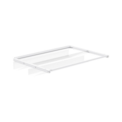 elfa 40 Gliding Mesh Shoe Shelf W605mm x H96mm - White