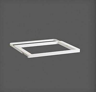 elfa White / White Decor Gliding Drawer Frame