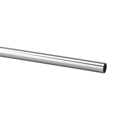 elfa Hanging Rod W1245mm - Silver