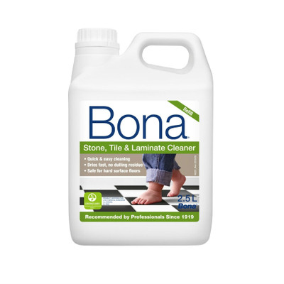 Bona Stone, Tile & Laminate Floor Cleaner Refill - 2.5 Litre
