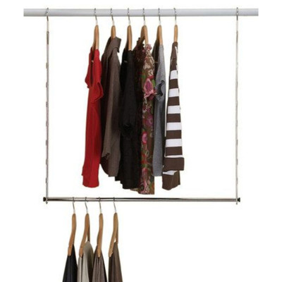 Wardrobe Double Hang Clothes Rail