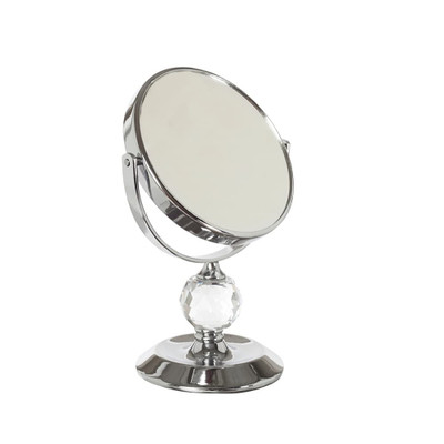Small Pedestal 'Bling' Mirror 5x Magnification