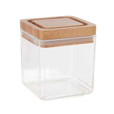 Davis & Waddell 1 Litre Canister with Bamboo Lid