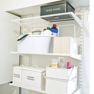 elfa Laundry Custom Shelving Unit